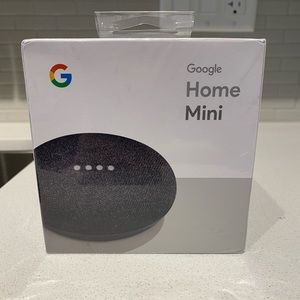 NEVER BEEN USED GOOGLE MINI HOME